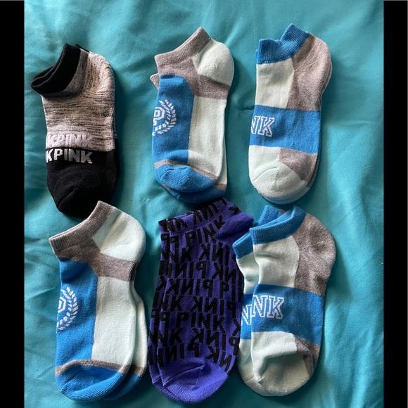 VS Pink socks 6 pair